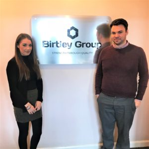 Birtley Group New Starters